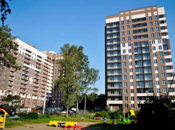 Два жилых дома переменной этажности